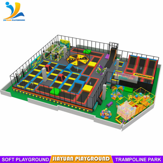 Generation3.0 Playground Equipment, Highly Appreciated Business Plan Trampoline Park for Sale