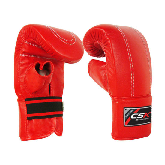 Imitation Leather Curved Heavy Bag Gloves