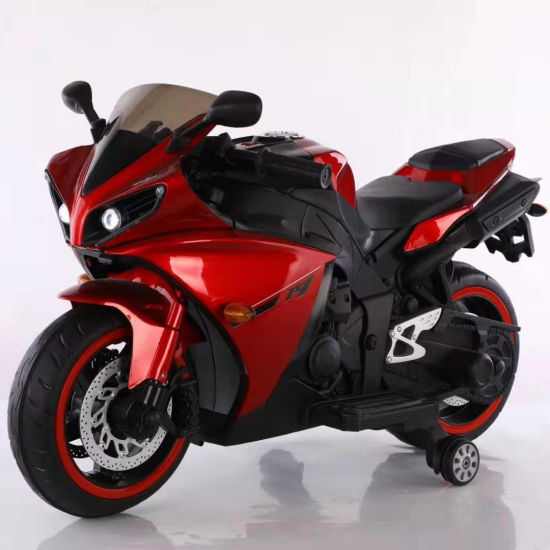 Battery Motor Electric Motorcycle for Kids Baby Ride on Electric Vehicle-R1