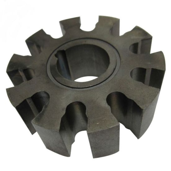 ODM OEM Sand Cast Iron Cylindrical Gear Parts
