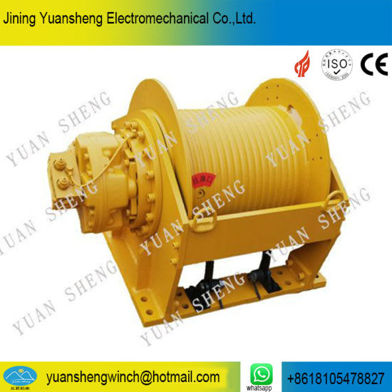 China Manufacturer From 0.5 Ton to 30 Ton Hydraulic Winch for Pickup