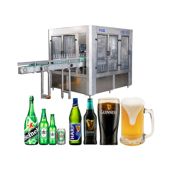 Sunswell Glass Bottle Soft Drink Filling Line Full Automatic Plastic Glass Bottle Orange Juice Filling Packing Processing Machine