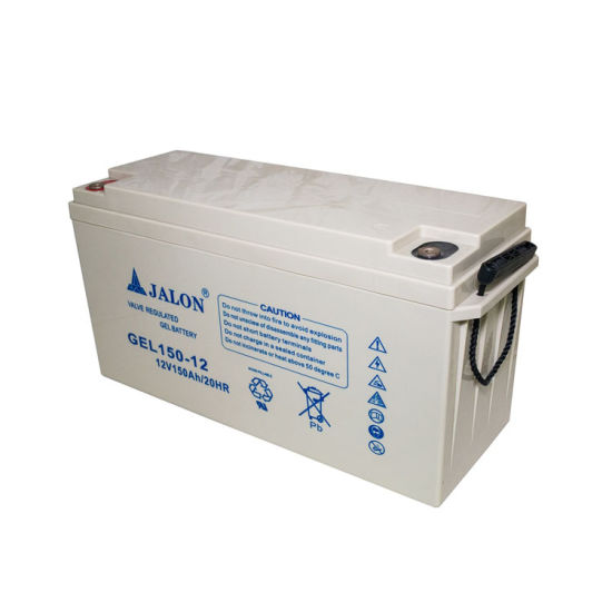 High Quality Deep Cycle Gel Battery for Solar System 12V 150ah
