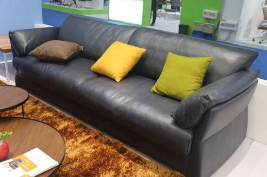 2019 Modern Sofa Design Genuine Leather Sofa Furniture