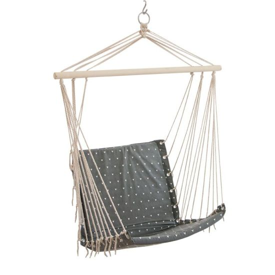 China 2019 New Inside Room Hammock Stand Furniture Padded Swing