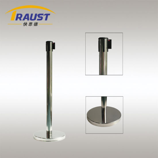 Economical Stainless Steel Queue Barrier for Indoor and Outdoor