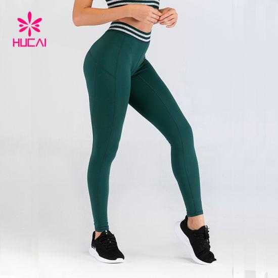 OEM Yoga Sports Apparel Women High Waist Running Tights