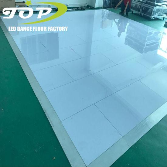 Gloss White Portable Dance Floor for Sale