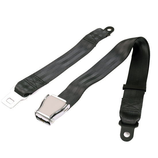 Two-Points Aircraft Safety Seat Belt Buckle Types Aviation Belt for Passenger and Driver pictures & photos
