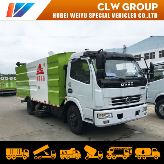 Factory Direct Sale Steel Plants/Airport Sanitation Clean Medium Vacuum Road Sweeper Truck pictures & photos