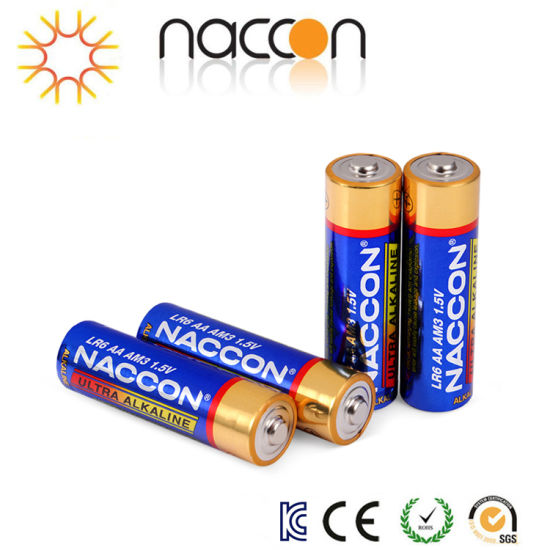 China 1 5v Aa Am3 Lr6 Alkaline Battery Am3 Dmegc Alkaline Batteries China Dry Battery And 1 5v Battery Price