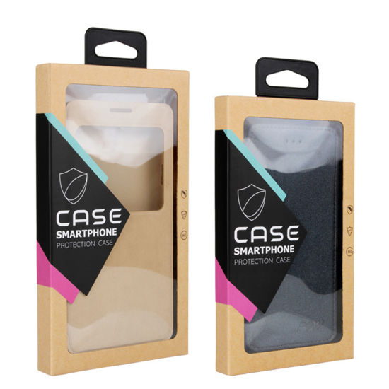 Kraft Paper Phone Case Packaging Boxes Mobile Phone Cases Paper Packing Box for iPhone 4.7 Inch 5.5inch pictures & photos