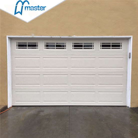China Ce Proved Electrical 10 X 8, 10 X 10 Garage Door