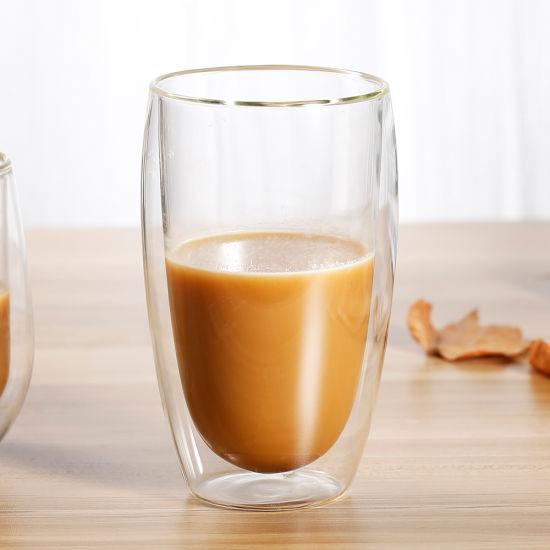 Borosilicate Double Wall Cup for Tea, Expresso, Milk, Coffee Mug