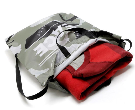 Direct Factory Price 210d Drawstring Polyester Bag pictures & photos