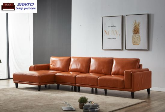 Furniture Manufacturer Salon Sofa Europe China Suppliers Home Furnitures  Modern Apartment Furniture Italy Leather Sofa Factory