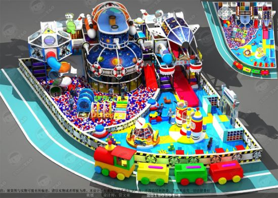 Commercial Indoor Playground Equipment for Kids (TY-18142)