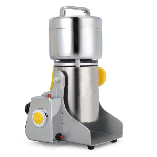 Electric Stainless Steel 250g Powder Swing Grain Pulverizer Grinder Machine