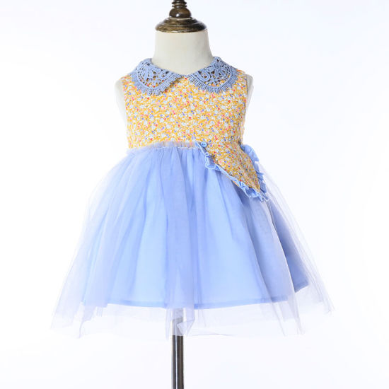 China 2020 Fashion Children Clothing Summer Kids Clothes Frock Design Flower Girls Dress Party Dresses China Flower Girl Dresses And Smocked Dresses Price