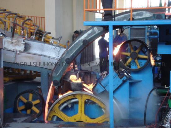 Copper Rod Continuous Casting and Rolling Machine