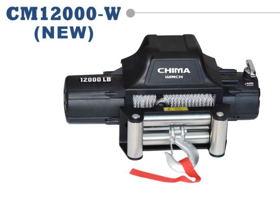 New Style Electric Winch for Truck, 12000lb Pull Capacity, 12VDC