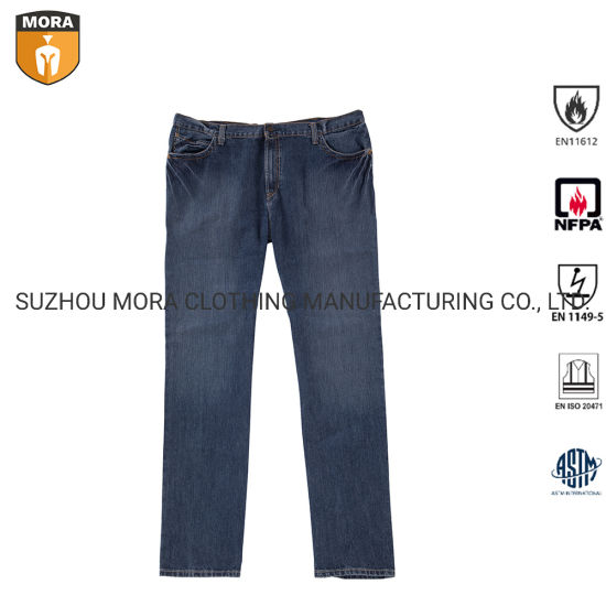 Nfpa 2112 Fr Clothing Safety Cargo Pants Outdoor Workwear Wholesale Flame Resistant Jeans pictures & photos
