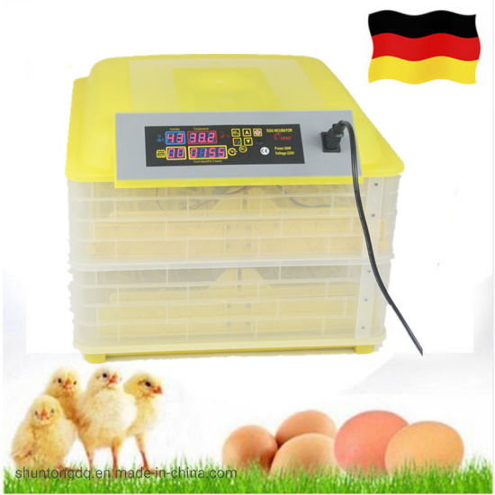 Yellow Practical 7-Egg Mini Practical Poultry Electric Incubator