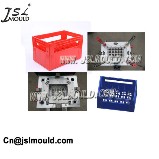 Taizhou Experienced Plastic 24 Bottle Beer Crate Mold pictures & photos