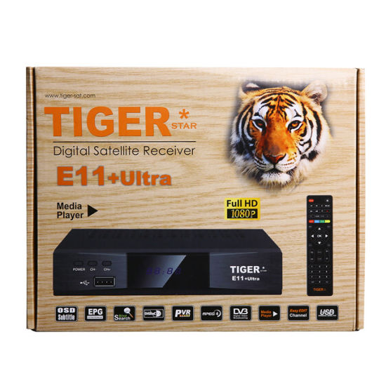 Tiger E11 Ultra Digital Satellite Receiver with Free Channels