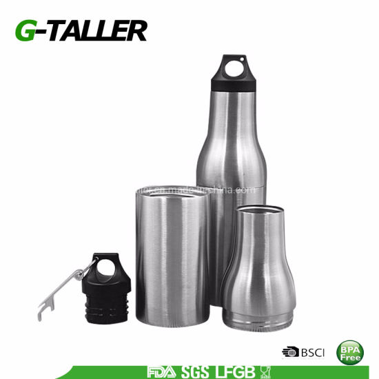 Double Wall Stainless Steel Bottle 12oz Beer Bottle