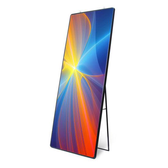 Mirror LED Poster Display P2.5 640*1920mm Ce FCC RoHS