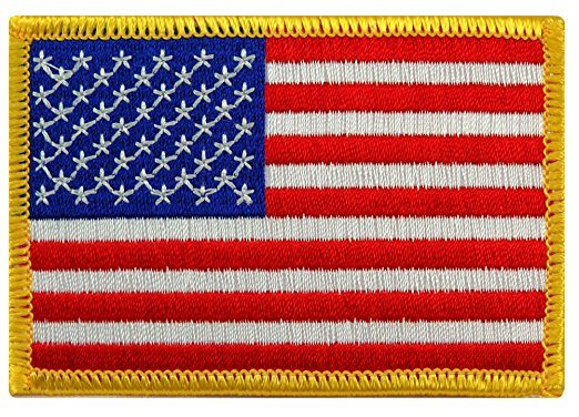 USA Special Flag Embroidery Patch Small Size and Big Size Available pictures & photos