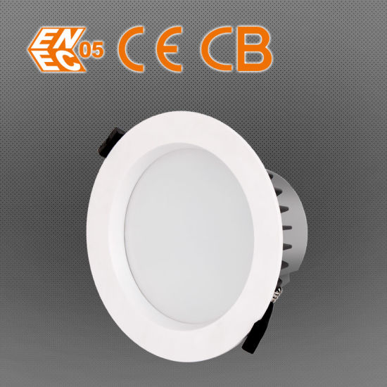 Dimmable Downlight LED with Australian Standard SAA Ce Cutout 100mm 12W LED Downlight