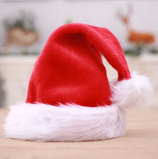 Best Selling Christmas Cap, Santa Hat, Christmas Hat for Christmas Red Christmas Hat pictures & photos