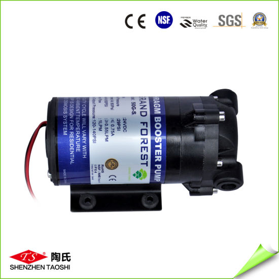China Booster High Pressure Water Pump in RO System - China RO Pump ...