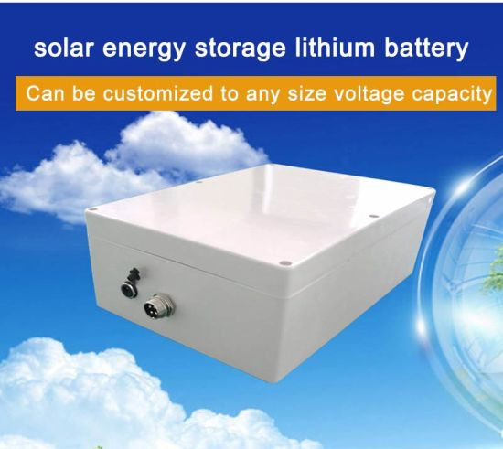 Rechargeable 12V Lithium Battery for Solar Panel