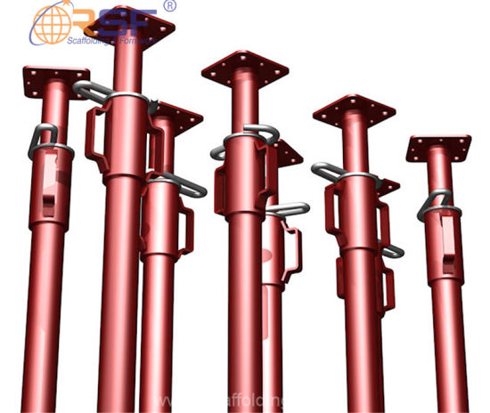 Ce Approved Painting Adjustable Steel Shoring Props for Support
