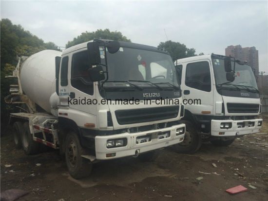 China Used Isuzu 6X4 Concret Truck Mixer Specifications