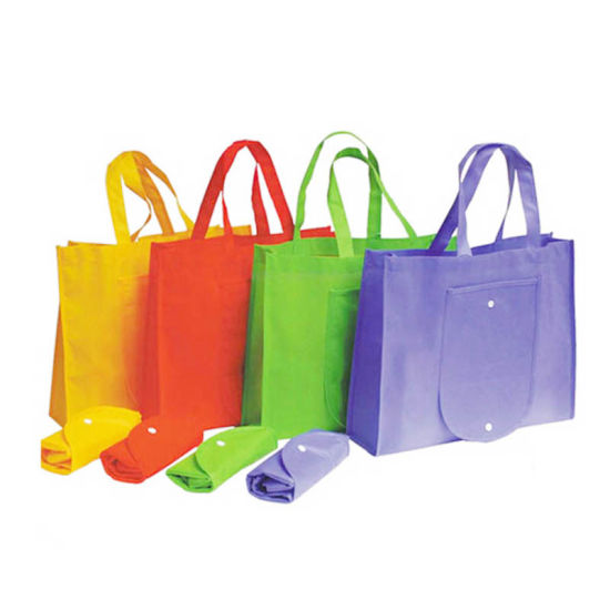 PP Woven Bag PP Non Woven Foldable Shopping Biodegradable Bag pictures & photos