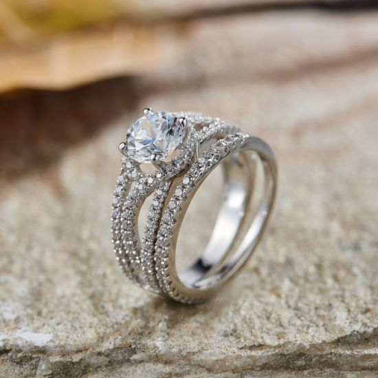 Noble Engagement Ring Set - 7 pictures & photos