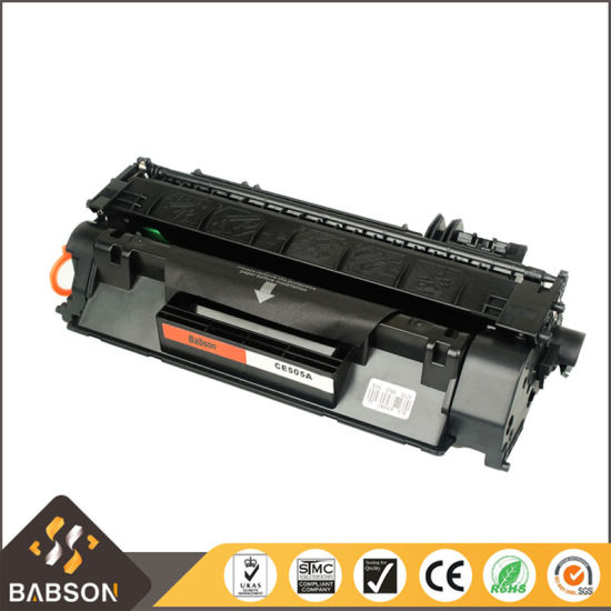 Large Capacity Compatible Laser Toner Cartridge Ce505X/05X for HP Printer pictures & photos