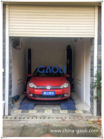 China Home Garage Single Post Design Auto Parking Lift China Car