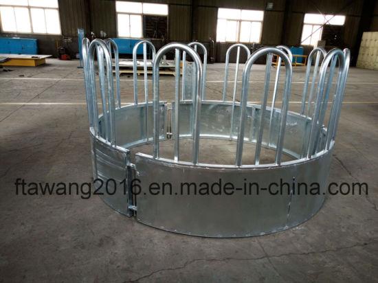 Galvanized Round Hay Feeder Hay Ring Panel