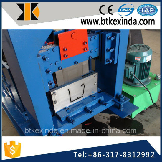 Kxd High Quality Aluminum Gutter Machine pictures & photos