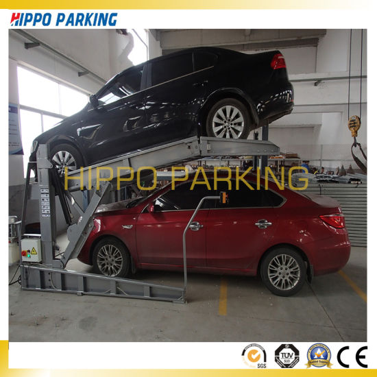 China Home Garage Mini Tilting Parking Lift Hoist China Parking