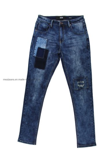 High Quality Men's Snow Knit Jeans (MY-006)