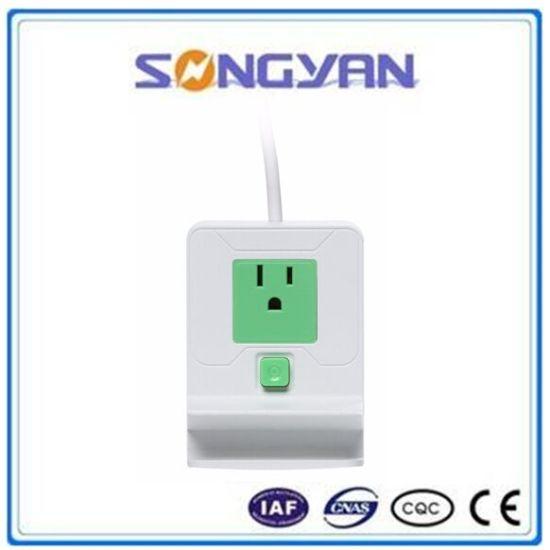 Mobile Phone Holder Regular Power Strip Grounded Outlet Plug Socket