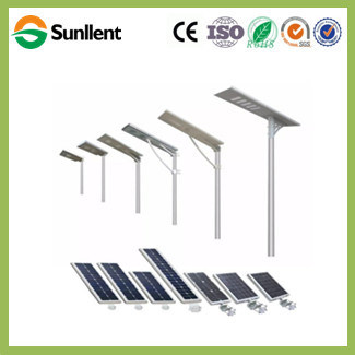 60W 80W Installation Solar Panel Charge Battery All in One Integrated Hanging Battery Solar Street Lighting