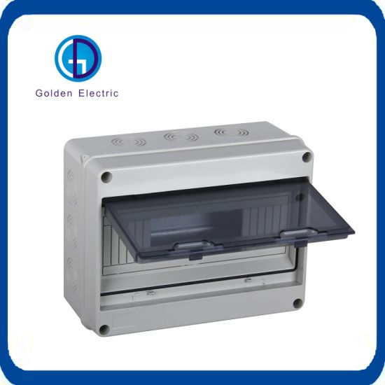 China Ht 8ways Waterproof Distribution Box Mcb Box Ip65 Switch Box