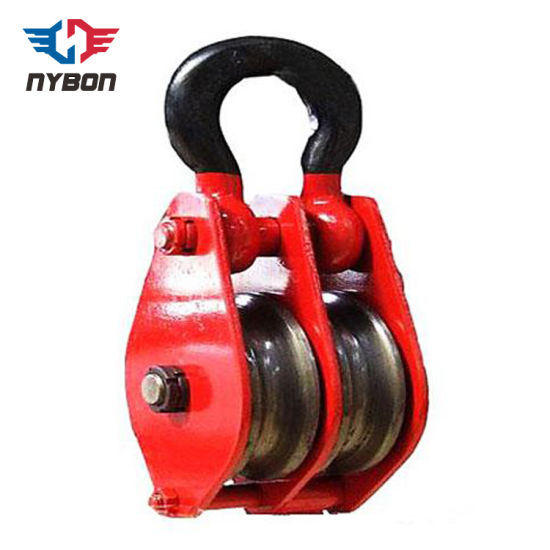 Lightweight Crane Equipment Single Hook Pulley Block pictures & photos